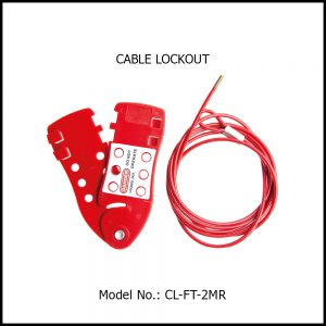 CABLE LOCKOUT, CL-FT-2MR