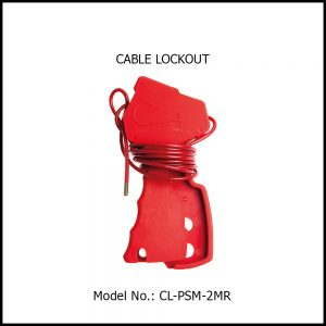 CABLE LOCKOUT, CL‐PSM‐2MR