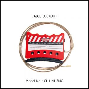 CABLE LOCKOUT, CL-UNI-3MC