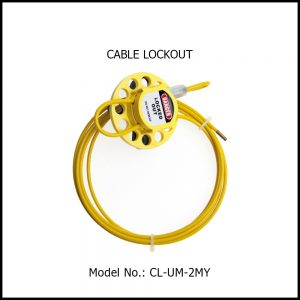 CABLE LOCKOUT, CL‐UM‐2MY