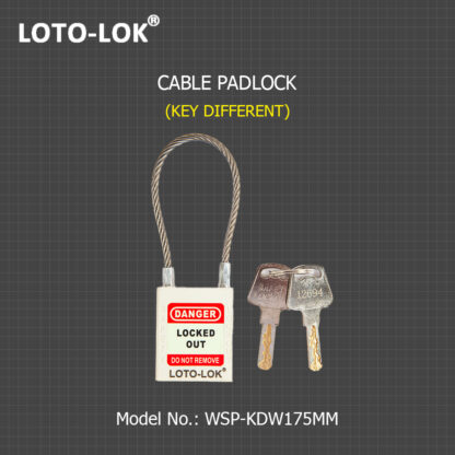 LOCKOUT_CABLE_PADLOCK_KD_WHITE_WSP-KDW175MM