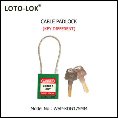 LOCKOUT_WIRE_LOCK_KD_GREEN_WSP-KDG175MM