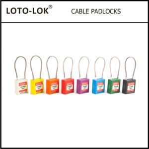 CABLE PADLOCKS
