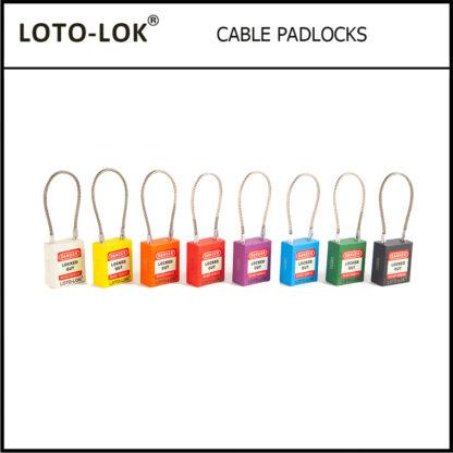 LOTO-LOK_VARIOUS_COLOR_CABLE_PADLOCKS