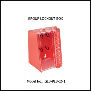 GROUP LOCK BOX, ABS & PC CONSTRUCTION
