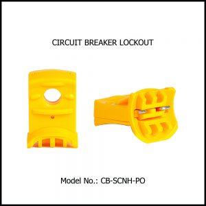 CIRCUIT BREAKER LOCKOUT, CB-SCNH-PO