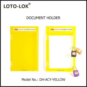 DOCUMENT HOLDER, DH‐ACY‐YELLOW