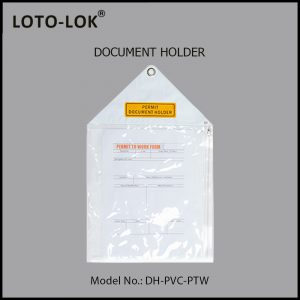 DOCUMENT HOLDER, DH‐PVC‐PTW