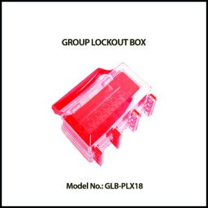 GROUP LOCK BOX, GLB‐PLX18