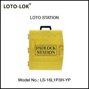 LOCKOUT STATION, 16 PADLOCKS (Empty Station)