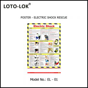 POSTER, ELECTRIC SHOCK RESCUE & ELECTRIC SAFETY TIPS