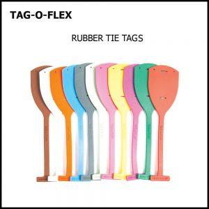RUBBER TIE TAG, TAG-O-FLEX