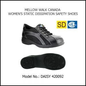 SAFETY SHOES (WOMEN), DAISY 420092