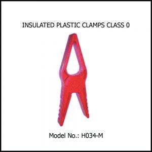 INSULATING PLASTIC CLAMP CLASS 0
