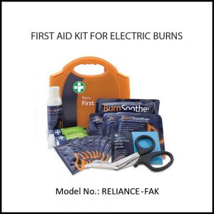 FIRST AID KIT FOR ELECTRIC BURNS