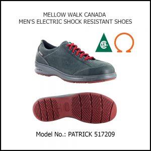 SAFETY SHOES (MEN), PATRICK 517209