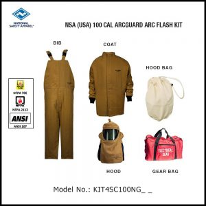 NSA (USA) 100 CAL ARCGUARD ARC FLASH KIT