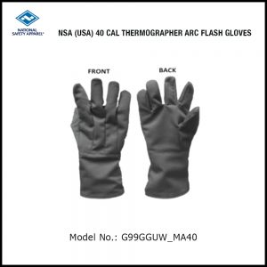 NSA (USA) 40 CAL THERMOGRAPHER ARC FLASH GLOVE