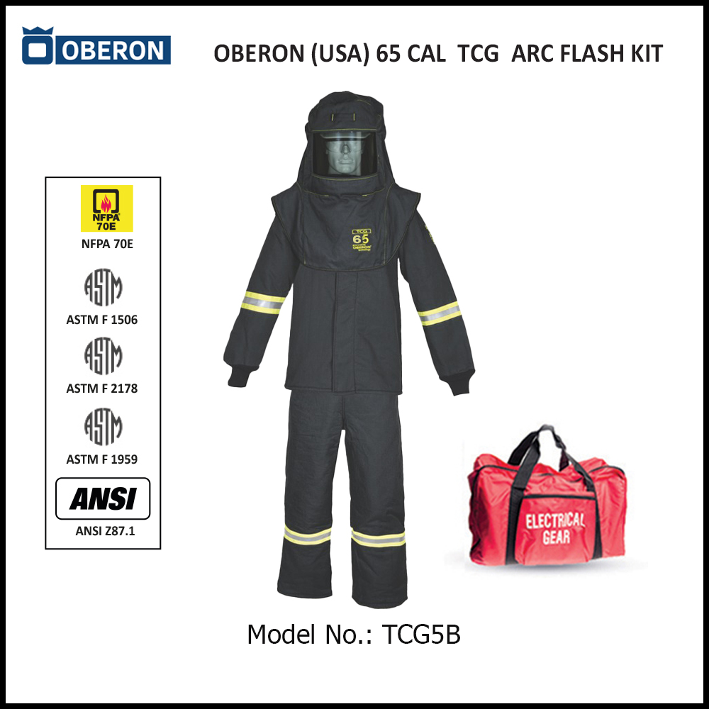 OBERON (USA) 65 CAL ARC FLASH PROTECTION PPE KIT