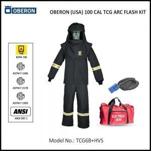 OBERON (USA) 100 CAL ARC FLASH PROTECTION PPE KIT