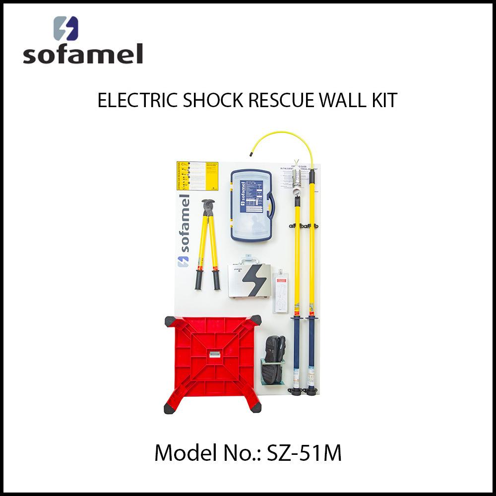 ELECTRIC SHOCK RESCUE EQUIPMENT