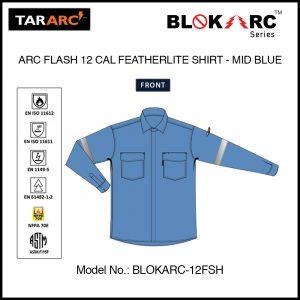 ARC FLASH SHIRT (MEN), ARC RATING: 12 CAL/CM² , HRC 2