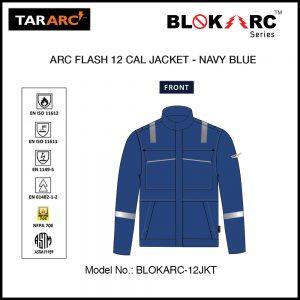 ARC FLASH JACKET (MEN), ARC RATING: 12 CAL/CM² , HRC 2