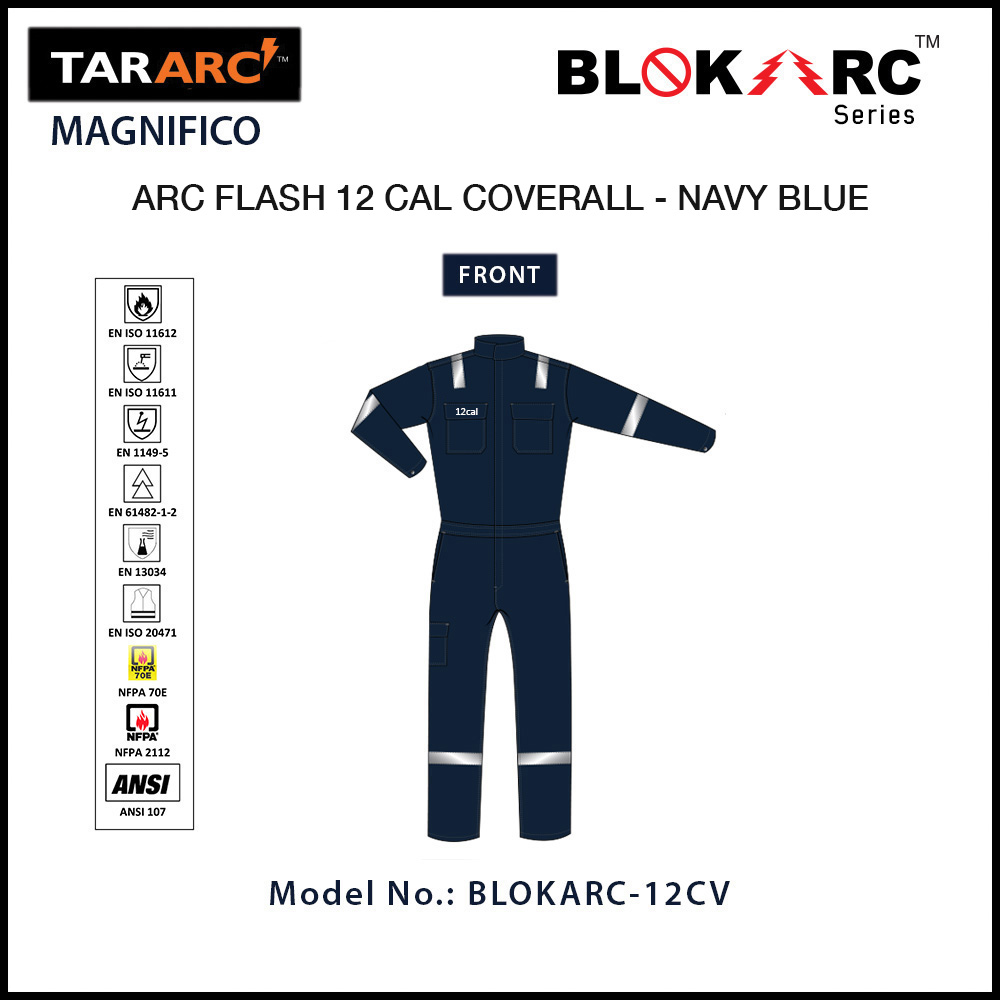 ARC FLASH MAGNIFICO COVERALL - 12 CAL