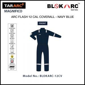 ARC FLASH MAGNIFICO COVERALL (MEN), ARC RATING: 12 CAL/CM² , HRC 2