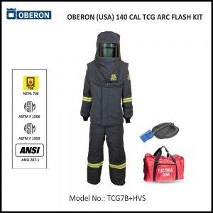 OBERON (USA) 140 CAL ARC FLASH PROTECTION PPE KIT