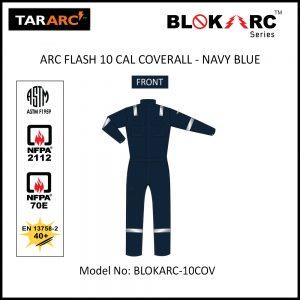ARC FLASH COVERALL (MEN), ARC RATING: 10 CAL/CM² , HRC 2