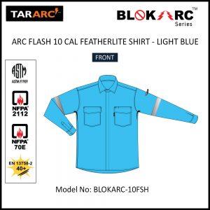 ARC FLASH FEATHERLITE SHIRT (MEN), ARC RATING: 10 CAL/CM² , HRC 2