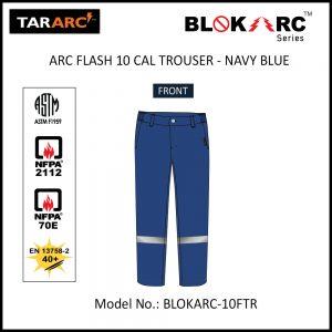 ARC FLASH FORMAL TROUSER (MEN), ARC RATING: 10 CAL/CM² , HRC 2