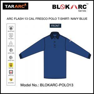 ARC FLASH FRESCO POLO (MEN), ARC RATING: 13 CAL/CM² , HRC 2