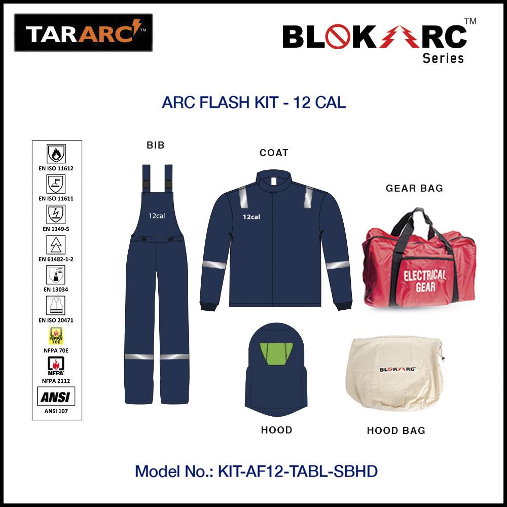 ARC FLASH KIT - 12 CAL