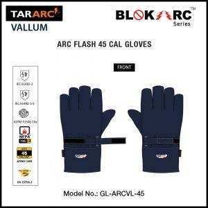 TARARC™ 45 CAL VALLUM ARC FLASH GLOVES