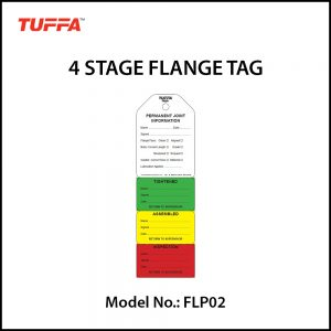 4 STAGE FLANGE TAGS