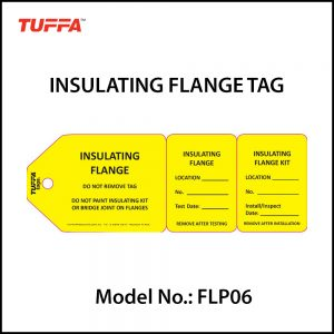 INSULATING FLANGE TAG