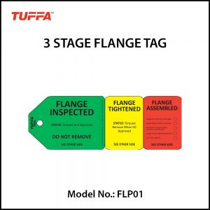 3 STAGE FLANGE TAGS