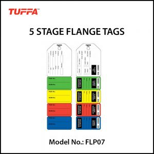 5 STAGE FLANGE TAGS