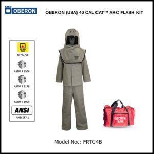 OBERON (USA) 40 CAL CAT™ ARC FLASH KIT